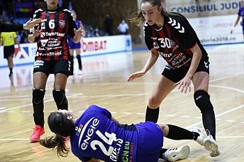 HANDBAL FEMININ: CS GLORIA 2018 BISTRITA-NASAUD - CSM BUCURESTI, LIGA FLORILOR (06.09.2021)