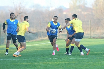 RUGBY: ANTRENAMENT ROMANIA, PLAYOFF RUGBY EUROPE (06.11.2018)