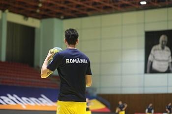 HANDBAL MASCULIN: ANTRENAMENT OFICIAL ROMANIA INAINTEA MECIULUI CU MUNTENEGRU, PRELIMINARII EHF EURO 2020 (07.11.2020)